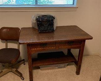 Wood desk. $150.00