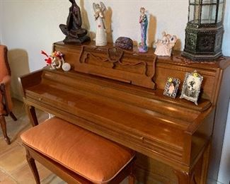 Piano.  Barely used. With seat. $1500.00