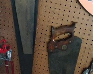 Old saws and tools