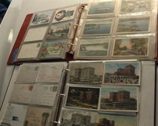 Old postcards   Many albums sold seperately to start sale