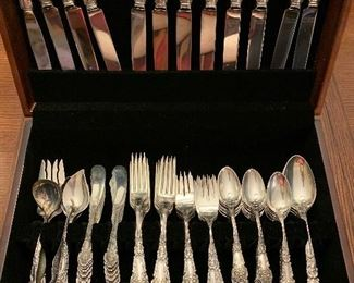 Reed and Barton French Renaissance Sterling Silver Flatware