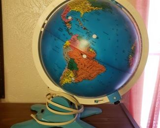 light-up globe