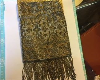 Another stunning 1920's Gloria bag (lining intact)