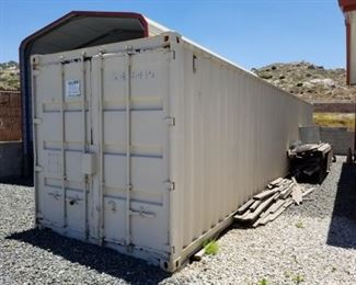 40-ft Shipping Container (7' x 7' x 40')