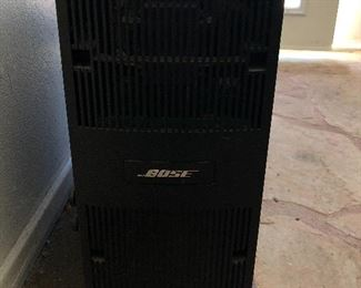 Bose surround sound with 5 Bose speakers