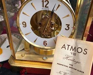 LeCoultre Atmos VIII clock