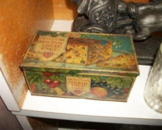 Hostess Fruit cake tin
