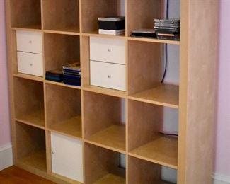 Cubby style bookcase
