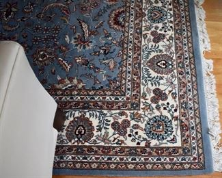 "Hand knotted Persian rug, approx. 8'9"" X 12'2"""