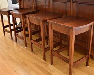 Set of 4 stools