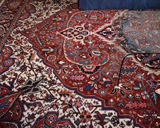 """Hand knotted Persian rug, approx. 11'x14'5"""""""