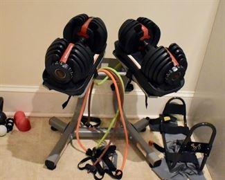 Bowflex select-a-weight set