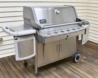 Weber Summit Platinum direct line gas grill