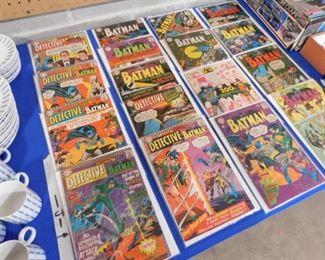 Silver Age Batman comics