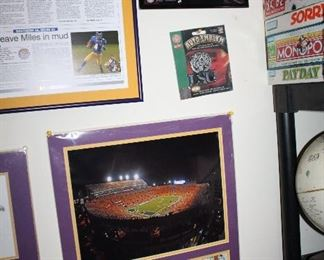 INDOOR, WING 1, LAST ROOM ON LEFT Interesting facts in LSU tiger history