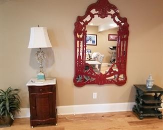Mirror with stone from Spain