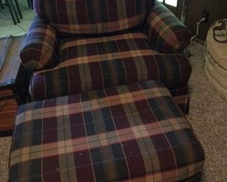 for sale chair with ottoman