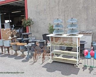 Large Selection of Country Decorative Outside Items  Auction Estimate $20-$200 – Located Out Front