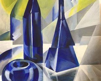 """Still Life by Olga Dunajera circa 1998 17 """" x 24"""" $100"""