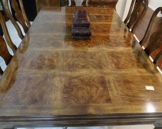 Gorgeous Top of Drexel Heritage Dining Table