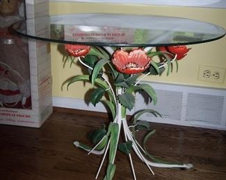 Tole Painted Table