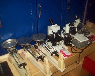 scales/microscopes