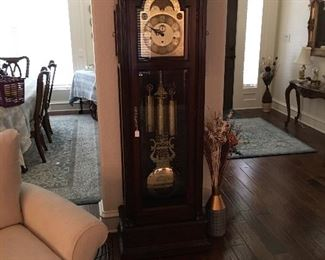 German Grandfather clock - works great, rugs