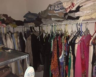 Lots of designer clothes$3 and up