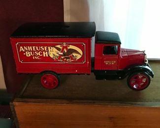 "Anheuser-Busch Bank, ""1931 Hawkeye"" trunk"