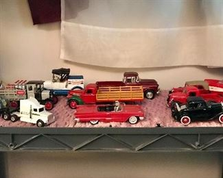 Diecast car & truck collection