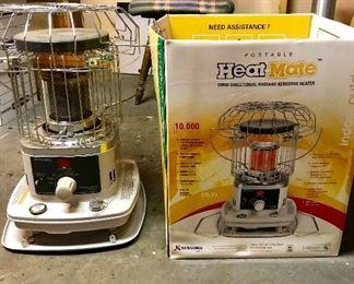 New portable kerosene heater