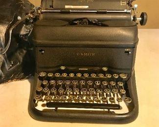 Vintage L C Smith typewriter