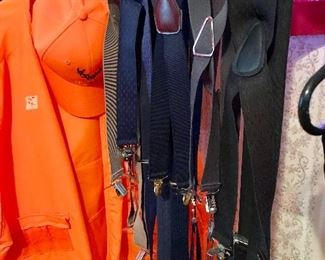 Large selection of suspenders