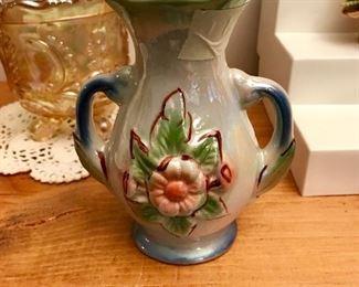 Vintage Lusterware Vase, make in Brazil