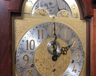 Detail grandfather clock
