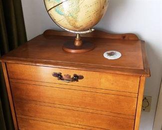 Record or Magazine Cabinet