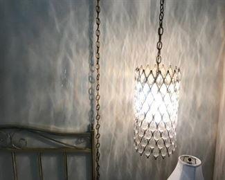 60's hanging lamp.