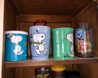 Peanuts and Disney kitchen treasures galore.......