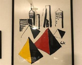 Signed Alexander Calder- original