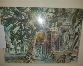 Virginia Fouche street scene