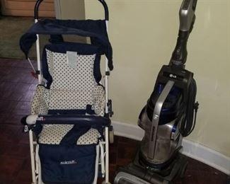 Stroller, vacuum