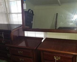 Dixie, cherry nightstands