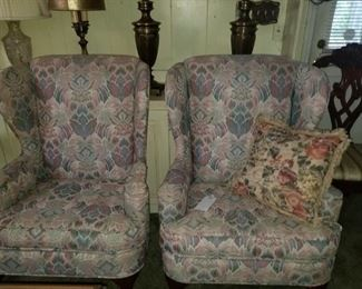 Matching armchairs
