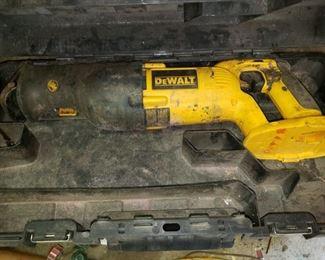 DeWalt sawzall