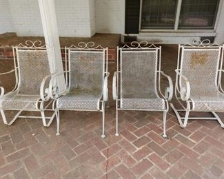 Two rockers and two matching chairs