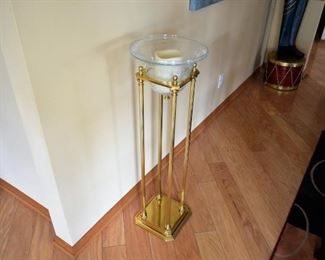 SOLID BRASS POPERY/CANDLE STAND