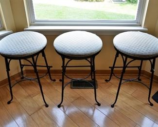 HERITAGE FORGE COUNTER STOOLS 5 AVAILABLE