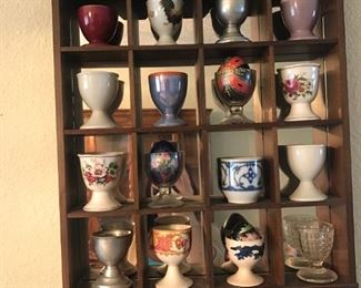 Egg cups and display