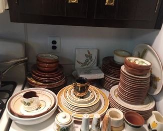 part of large collection of Stangl ware
