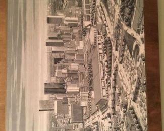 Karl Hoefle - Dallas skyline